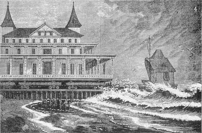 Moving The Brighton Beach Hotel From A British Publication Engineer April 27 1888